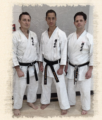 Jared Sato, Glen Smith, Rob Kirik
